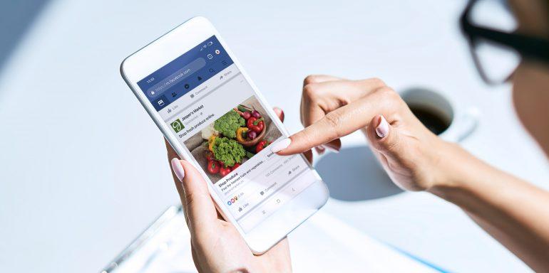 Facebook advertising builds engagement
