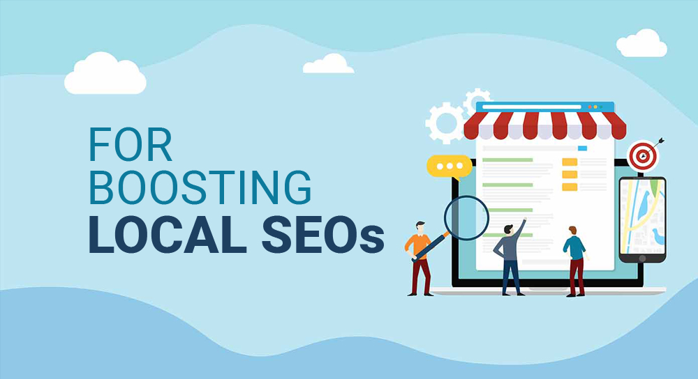 For boosting local SEOs